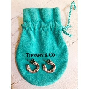 Vintage Authentic Tiffany & Co. Bamboo earrings